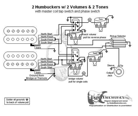 hbs  toggle vol tonescoil tap reverse phase