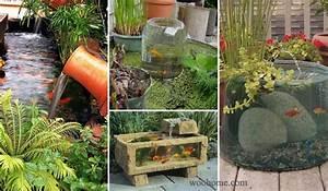 22 Small Garden or Backyard Aquarium Ideas Will Blow Your