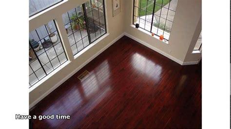 brazilian cherry hardwood floor   YouTube