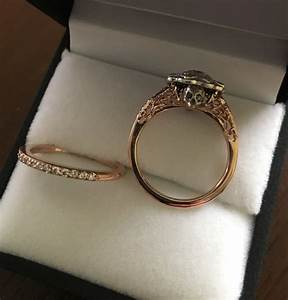 victorian skull engagement ring and wedding band With wedding rings with skulls on them