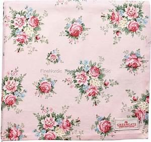 Tischdecke 350 X 150 : greengate tischdecke aurelia pale pink 150 x 150 cm ~ Watch28wear.com Haus und Dekorationen