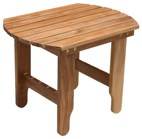douglas nance adirondack side table traditional