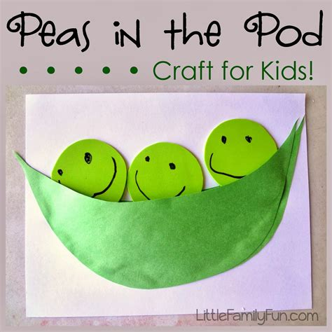 eat your vegetables day simple peas in a pod craft k 643 | 6e8fcadefb2316abfb66c2c9d6500e77