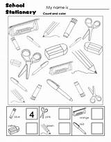 Worksheet Microscope Drawing Objects Coloring Getdrawings Pages English sketch template