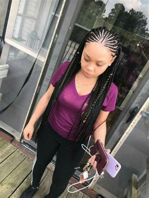 cute lemonade braids ponytail hairstyles   love