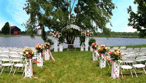 small backyard wedding decoration ideas mystical designs