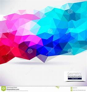 Abstract Geometric Colorful Background. Stock Images ...