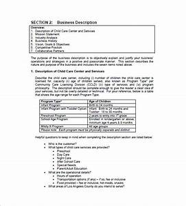 daycare business plan template 12 free word excel pdf With program plan template for child care