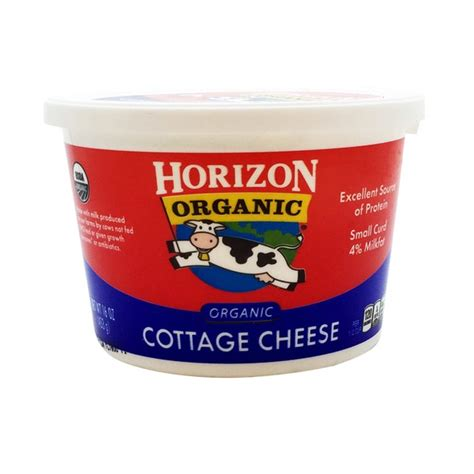 Cottage Cheese Organic Horizon Organic Organic Cottage Cheese From Whole Foods