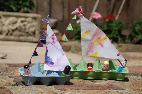Artwork For Kids To Do by 20 Boat Craft Ideas