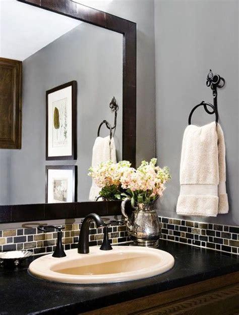 Modern Bathroom Backsplash by 5 Modern Bathroom Ideas