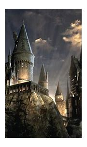 harry potter hogwarts under cloudy sky hd movies ...