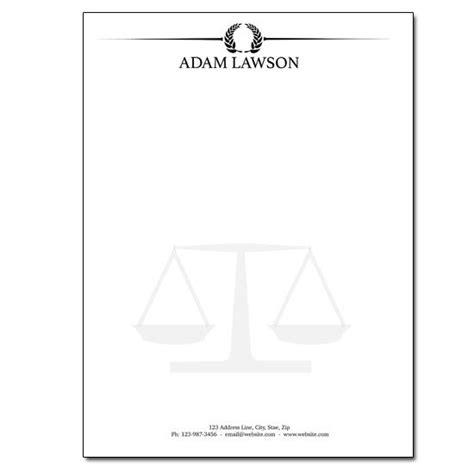 legal firm letterheads legal letterhead designsnprint