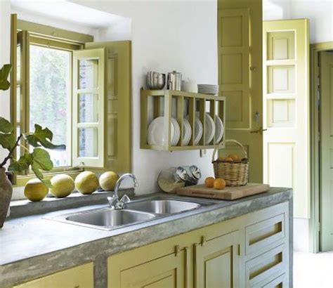 green and yellow kitchen decor 15 beautiful feng shui kitchen colors 6928