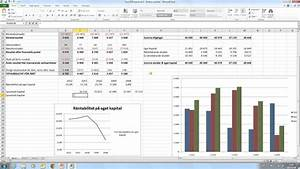 Excel 2010 Tutorial Del 3 Tabeller Och Diagram
