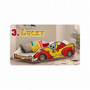 Lit Voiture Garcon : lit voiture gar on fille 180x90 cm ~ Teatrodelosmanantiales.com Idées de Décoration