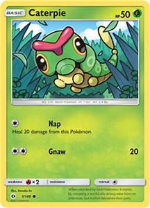 Caterpie -- Sun and Moon Pokemon Card Review ...