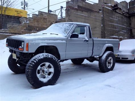 lifted jeep truck comanche cherokee pinterest jeeps jeep truck and 4x4