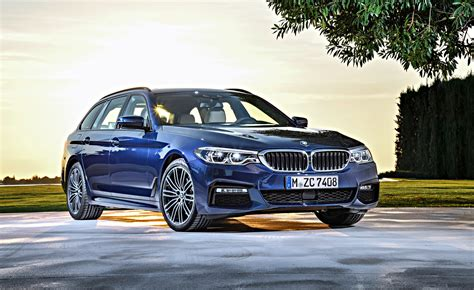 2017 Bmw 5-series Touring Uncovered, Oz-bound