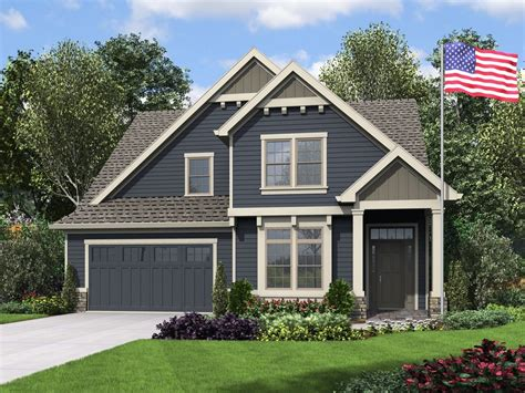 Craftsman Style House Plan 4 Beds 3 5 Baths 2960 Sq/Ft