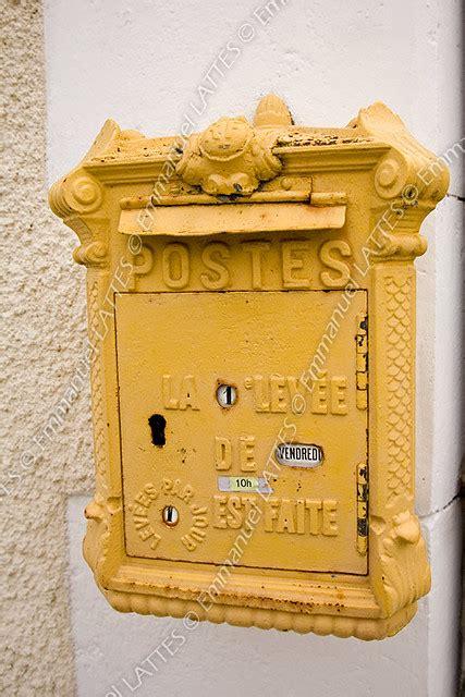 boite aux lettres debut  encore en service dans le dep