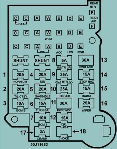 1988 k5 blazer fuse box wiring diagram