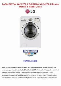 Download Free Pdf For Lg Wm3677hw Washer Manual