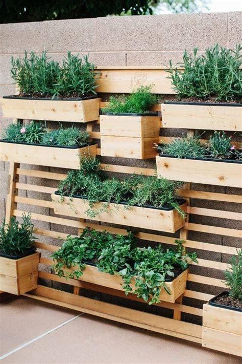 Vertical Garden Boxes by Vertical Herb Garden Wooden Herb Boxes Herb Garden