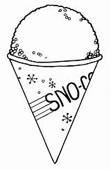 Cone Snow Clipart Clip Cones Drawing Draw Sno Coloring Pages Cliparts Snocone Sheet Ice Cream Library Getdrawings Colouring Clipground Clipartlook sketch template