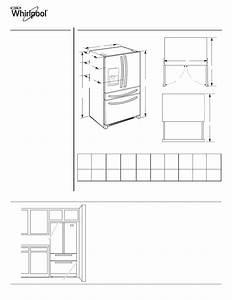 Maytag Wrx988sibw Dimension Guide User Manual