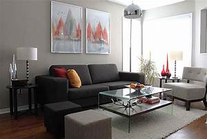 what colour curtains go with grey walls and brown sofa With living room furniture to match grey walls