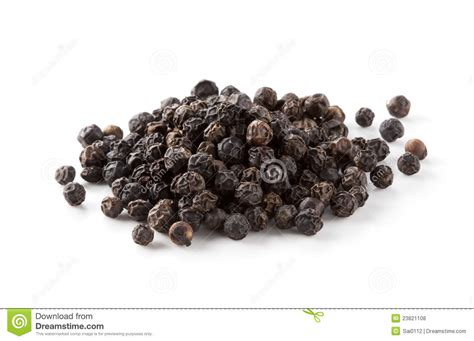 aroma indian cuisine black pepper stock photo image of food pile isolated