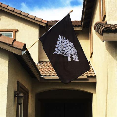 game  thrones stark banner flag shut     money
