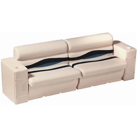 Boat Side Bench Seat by Wise 174 Premier Pontoon Rear Or Side Bench Seating 291846