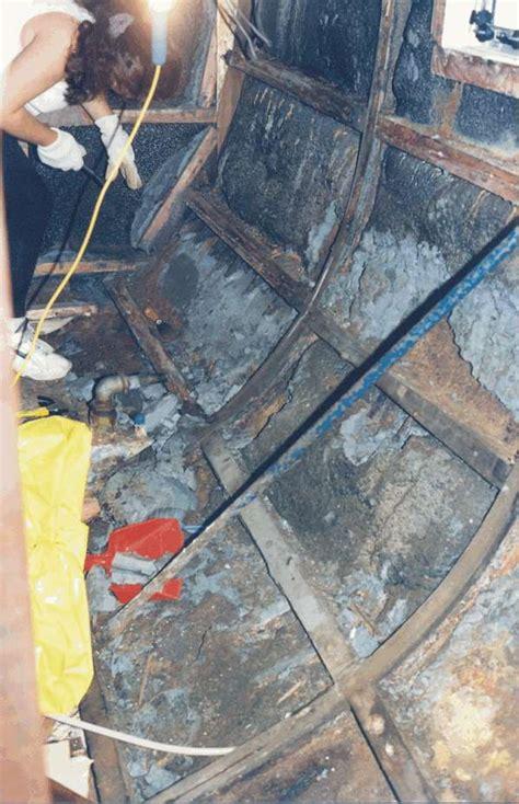 Steel Boat Rust Repair by The Saving Of Whitebird
