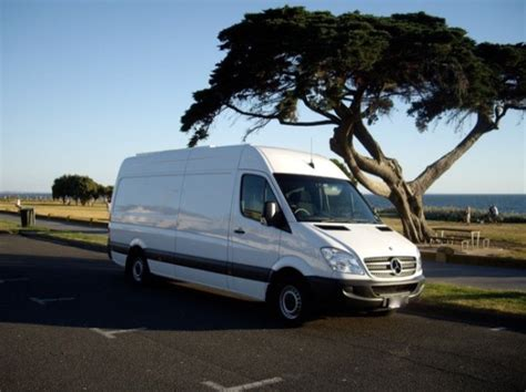 Van Turned Into Beautiful Stealth Sprinter Motorhome
