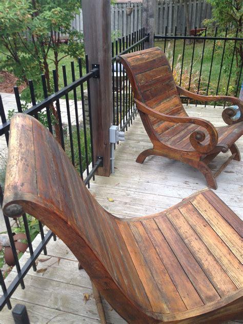 teak gentleman ladies chairs indonesian patio