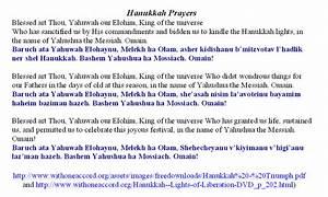 hanukkah prayer with beard lighting the