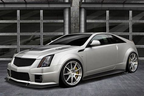 2012 Cadillac Cts-v Coupe Twin Turbo V1000 By Hennessey