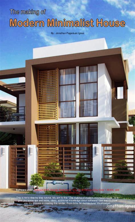 The Making Of Modern Minimalist House
