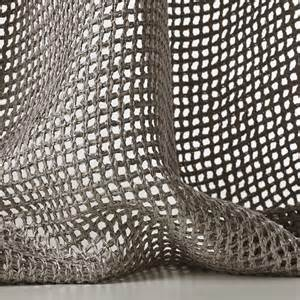 mesh sheer fabric for curtains tressage by dedar