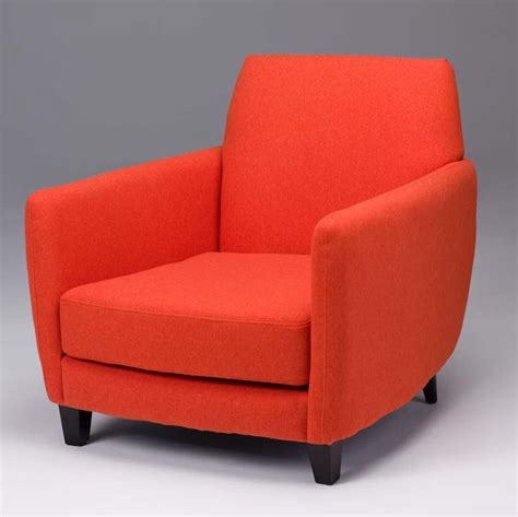 orange accent chair faux wool accent chairs seriena
