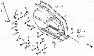 Honda Motorcycle 1983 Oem Parts Diagram For Right