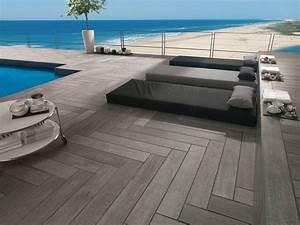 Carrelage Terrasse Piscine : 3 terrasses chics pour un effet choc ~ Premium-room.com Idées de Décoration