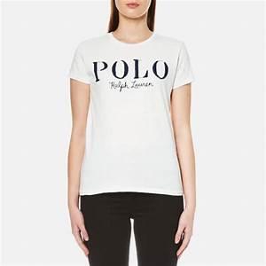 Polo Ralph Lauren Women's Polo Logo T-Shirt - Nevis - Free ...