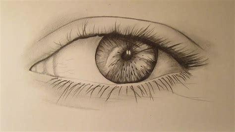 Cómo dibujar un ojo a lápiz paso a paso aprender a