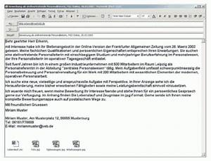 Anschreiben Rechnung Per E Mail : ansprechende online bewerbung e mails datei anh nge ~ Themetempest.com Abrechnung