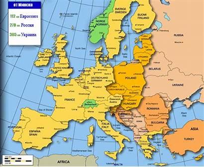 Belarus Map Minsk Russia Belarusians Apparently Radio
