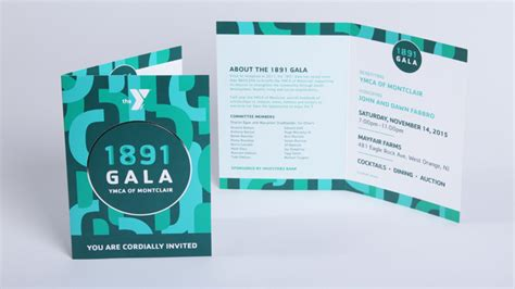 ymca  montclair  gala event branding design