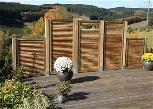 Sichtzäune Aus Holz : maag rund ums holz massivholz gartenm bel hersteller ~ Watch28wear.com Haus und Dekorationen